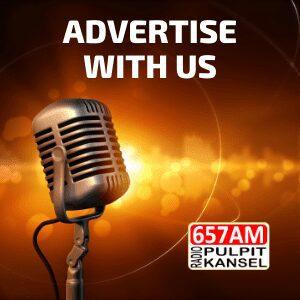 Advertise on Radio Pulpit